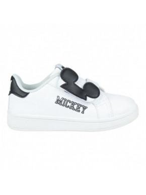 Zapatillas clásica infantil blancas MICKEY