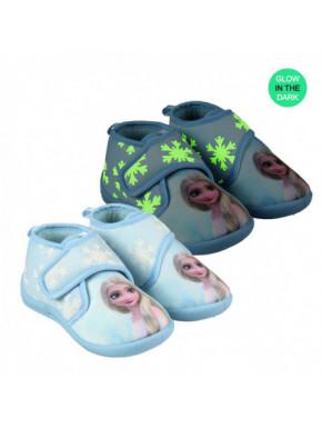 Zapatillas media bota infantil de casa FROZEN 2