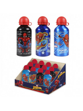 BOTELLA ALUMINIO DISPLAY SPIDERMAN