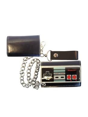 Cartera con cadena Nintendo mando NES
