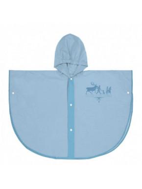 Poncho impermeable infantil azul FROZEN 2