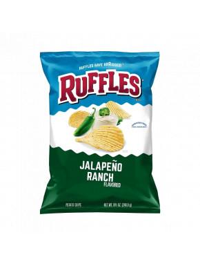 Ruffles picantes sabor Jalapeño Ranch
