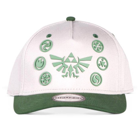 Gorra Zelda elementos