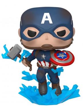 Funko POP!: Capitán América  Escudo roto 9 cm