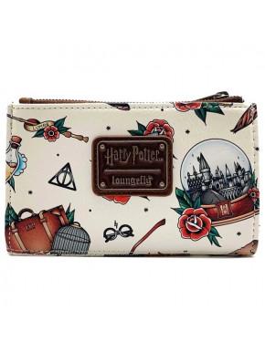 Cartera billetera Harry Potter Tattoo Loungefly