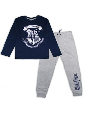Pijama Niño Harry Potter Azul