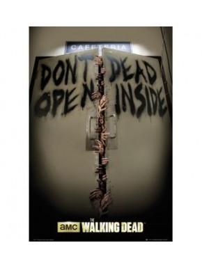 Poster Walking Dead Don't Open