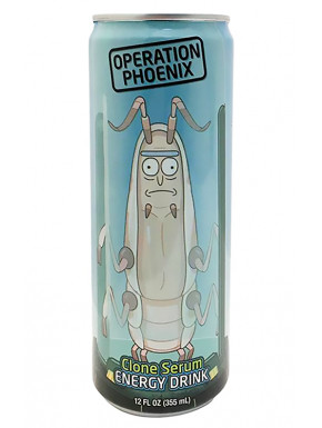 Bebida Energética Rick y Morty Operacion Fenix