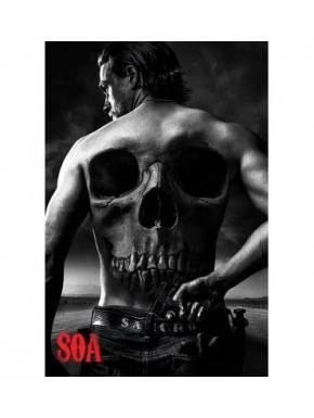 Poster Sons of Anarchy Skull