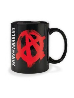Taza Sons of Anarchy logo