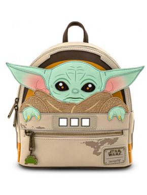 Bolso mochila Baby Yoda Loungefly The Mandalorian