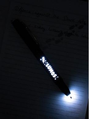 Bolígrafo con luz Harry Potter Lumos