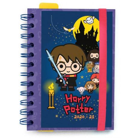 AGENDA ESCOLAR 2020/2021 Harry Potter chibi