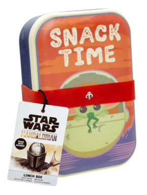 Fiambrera The Child Snack Time Star Wars The Mandalorian