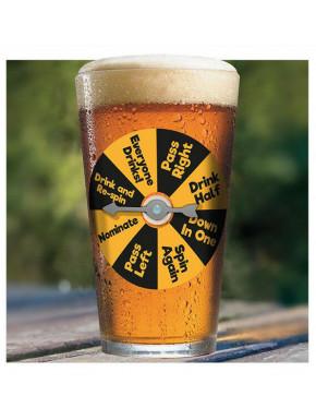 Pinta mágica de cerveza con ruleta