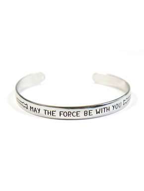 Pulsera Brazalete Star Wars May The Force Be With You