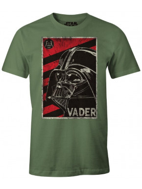 Camiseta Darth Vader tribute green