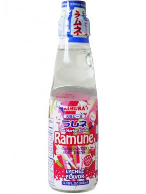 Ramune sabor Lichi Refresco 200 ml