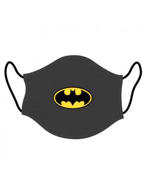 Mascarilla Higiénica Batman Gris Adulto