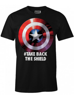 Camiseta Capitán América take back the Shield