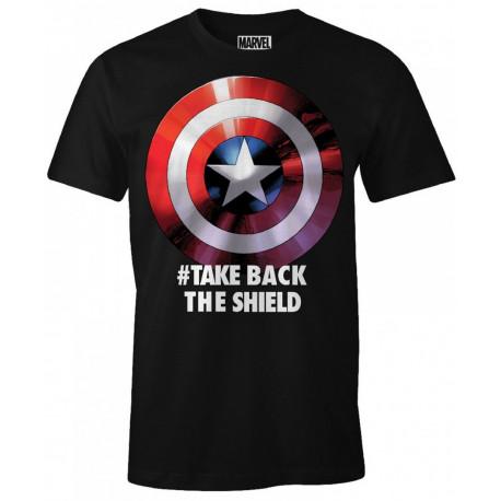 Camiseta Capitán América take back the Shield