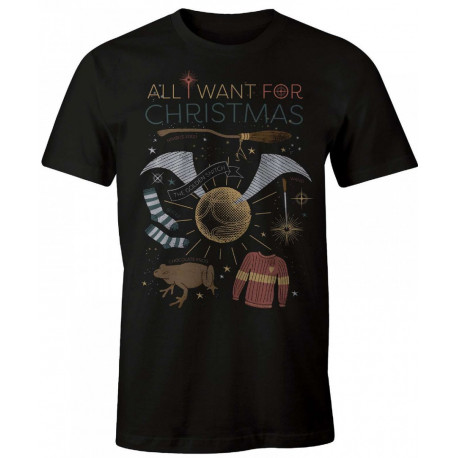 Camiseta Harry Potter All I want for Christmas
