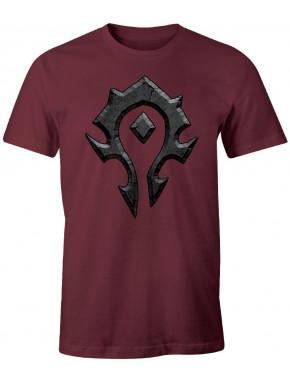 Camiseta Warcraft Horda logo