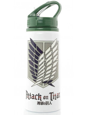 Botella Aluminio Attack on Titan 700 ml