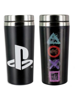 PlayStation Taza de Viaje Icons