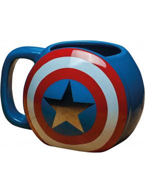 Taza Capitán América Shield