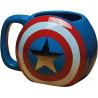 Taza Capitán América Escudo Cromada
