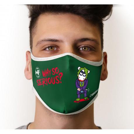 Mascarilla Reutilizable Joker Kukuxumusu
