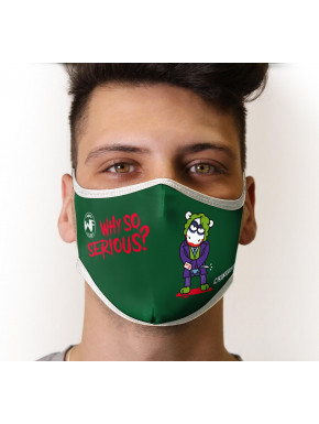 Mascarilla Reutilizable Joker Kukuxumusu Juvenil