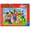 Puzzle Super Mario Nintendo 1000 piezas Personajes