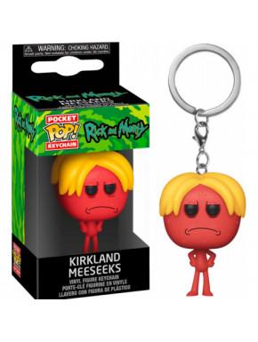 Llavero mini Funko Pop! Kirkland Meeseks Rick y Morty