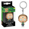 Llavero mini Funko Pop! Morty Cristal de la Muerte Rick y Morty