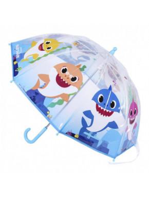 Paraguas infantil azul BABY SHARK