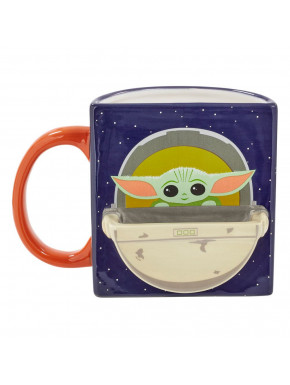 Taza Cookie Holder The Child Drink Time Star Wars The Mandalorian