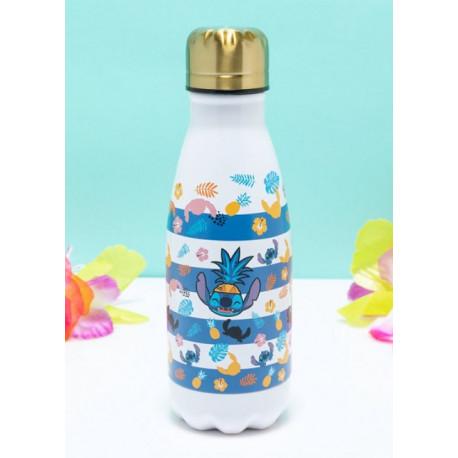 Botella de Metal  Aloha Hawaii Lilo & Stitch