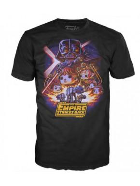 Camiseta Star Wars Funko El Imperio Contraataca