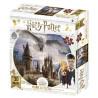 Puzzle 3D Harry Potter Hogwarts & Hedwig 500 piezas