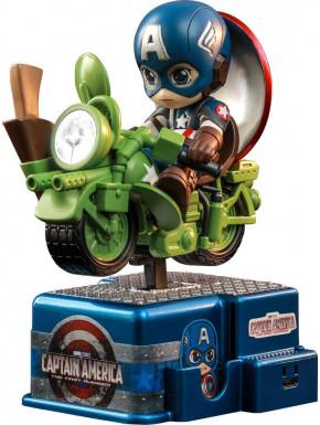 Figura Capitán América Hot Toys CosRider 15 cm