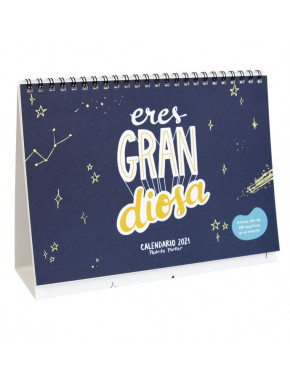"""Calendario de Mesa 2021"""" Eres GRANdiosa"""""""