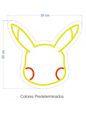 Neón LED Pikachu Pokemon