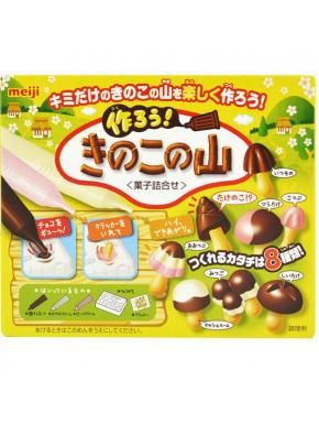 DIY Galletas de chocolate en forma de seta Meiji para montar