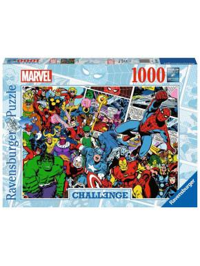 Puzzle Challenge Comics (1000 piezas) Marvel