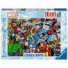 Puzzle Challenge Marvel Personajes 1000 Piezas