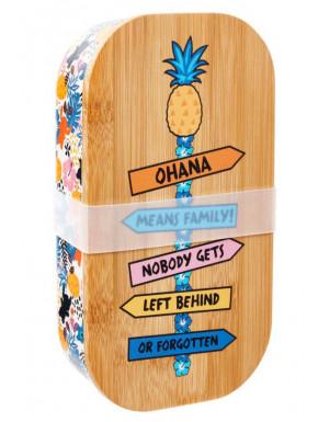 Fiambrera Lilo & Stitch Ohana