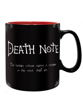 Taza Death Note logo 460 ml