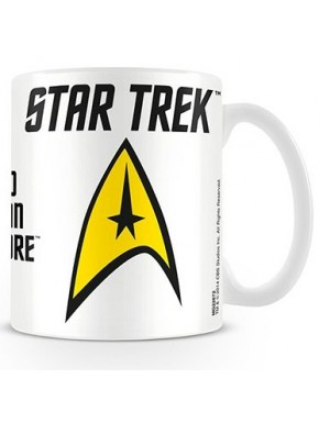 Taza Star Trek logo